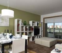 Новая двухкомнатная квартира в спальном районе Лиссабона